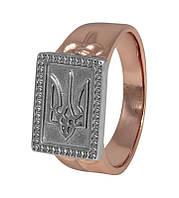 """Мужское серебряное кольцо с гербом """"386"""""""