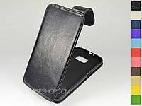 Откидной чехол из натуральной кожи для Samsung G920 Galaxy S6 / G920D Galaxy S6 Duos