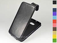 Откидной чехол из натуральной кожи для Samsung G925 Galaxy S6 Edge