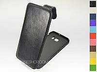 Откидной чехол из натуральной кожи для Samsung G928 Galaxy S6 Edge Plus