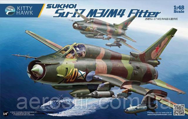 Sukhoi Su-17M3/M4 1/48 KITTY HAWK 80144