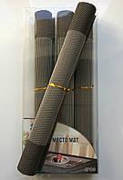 Набор 4 шт Салфетки-подложки для защиты стола (сетка) 30х45см (NS14)