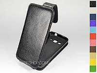Откидной чехол из натуральной кожи для Samsung G3815Galaxy Express 2