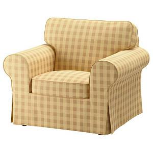 Кресло желтое классика