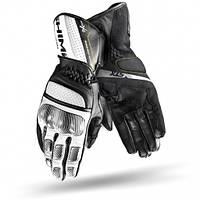 Мотоперчатки Shima STX (черно белые)