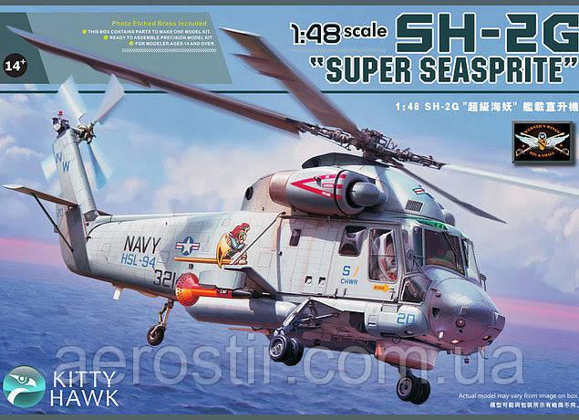 SH-2G Super SEASPRITE 1/48 KITTY HAWK 80126