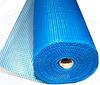 Щелочестойкая стекловолоконная сетка для армирования гидроизолирующих составов FIBERGLASS 160 синяя (50м2)
