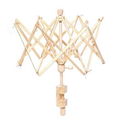 Зонт для перемотки пряжи деревянный
