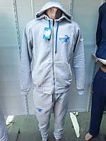 Мужской спортивный костюм c прямой штаниной Турция M-2XL 05