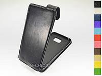 Откидной чехол из натуральной кожи для Samsung Galaxy Note 5 N920
