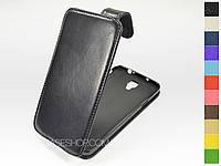 Откидной чехол из натуральной кожи для Samsung n7505 Galaxy Note 3 Neo