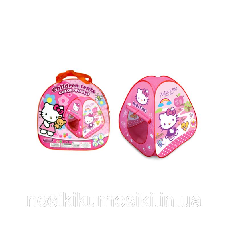 Намет дитячий Hello Kitty піраміда, розмір 88-88-88 см, в сумці
