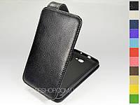 Откидной чехол из натуральной кожи для Samsung Galaxy Note i9220