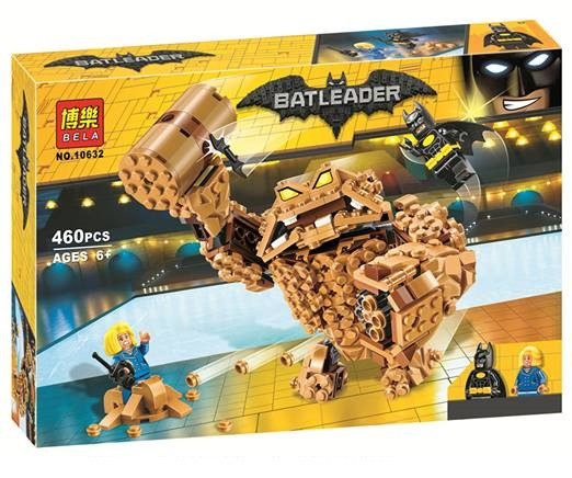 "Конструктор Bela 10632 (реплика Lego The Batman Movie 70904) ""Атака Глиноликого"" 460 дет"