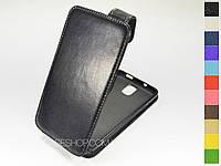 Откидной чехол из натуральной кожи для Samsung Galaxy Note 3 N7200