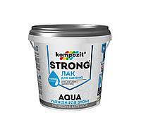 Лак для камня (грунтовка) для наружных и внутренних работ Strong Agua Композит 10л