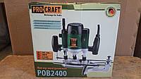 Фрезер ProCraft POB-2400 + набор фрез (12 шт.)