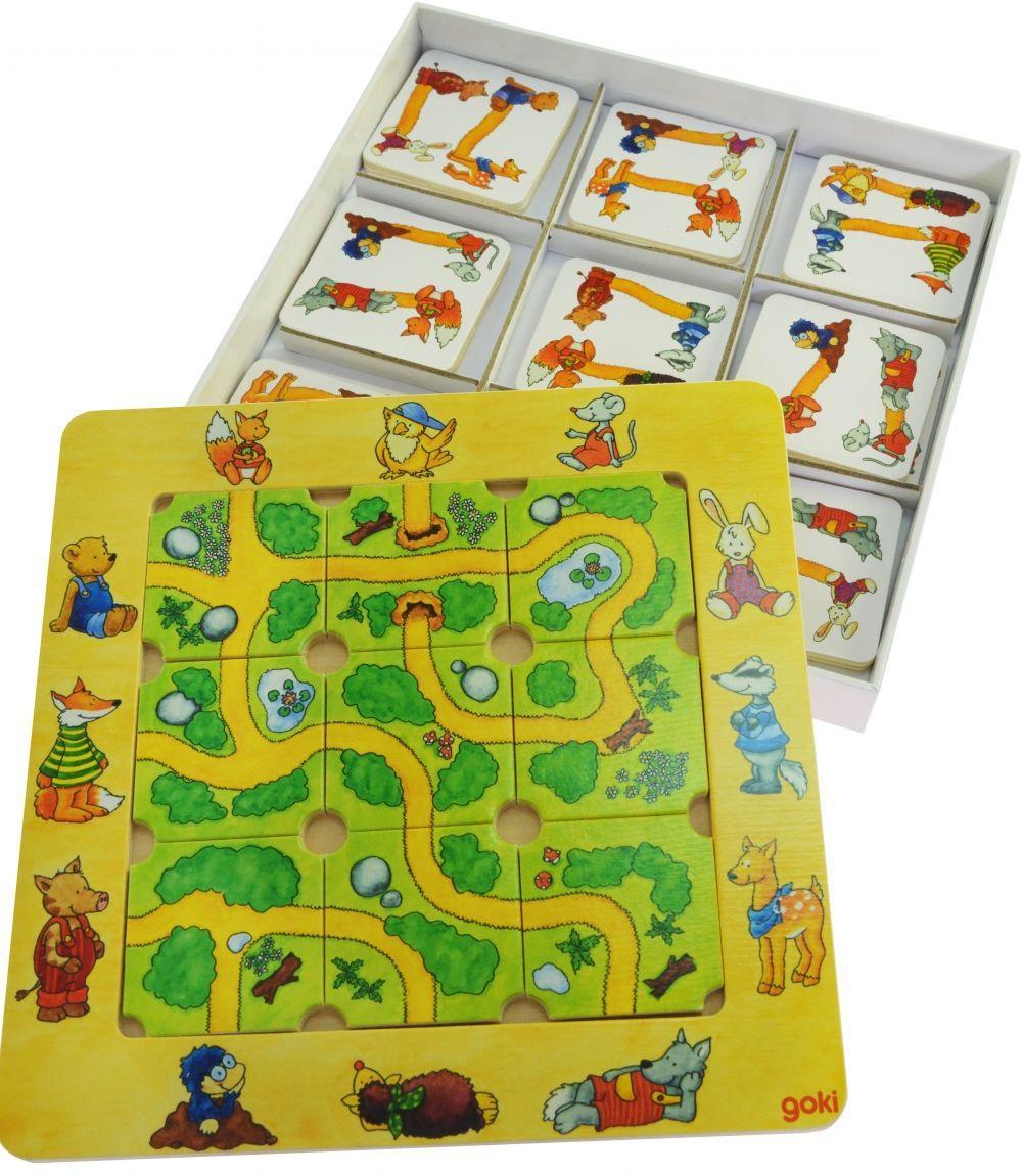 Развивающая игра Найди дорогу goki  56944
