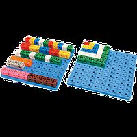 Набор для обучения Gigo Доска для набора «Занимательные кубики» 1017C (1163)