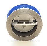 Клапан обратный межфланцевый двухстворчатый GENEBRE тип 2401 Ду125 Ру16, фото 6