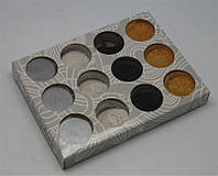 Микроблеск -золото, серебро, черный, белый