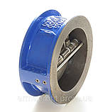 Клапан обратный межфланцевый двухстворчатый GENEBRE тип 2401 Ду150 Ру16, фото 4