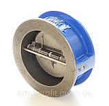 Клапан обратный межфланцевый двухстворчатый GENEBRE тип 2401 Ду150 Ру16, фото 7