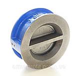 Клапан обратный межфланцевый двухстворчатый GENEBRE тип 2401 Ду150 Ру16, фото 8