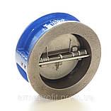 Клапан обратный межфланцевый двухстворчатый GENEBRE тип 2401 Ду250 Ру16, фото 5