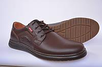 Туфли мужские кожаные на шнурках
