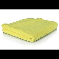 """Желтое микрофибровое полотенце """"Рабочая лошадка"""" для интерьера, 40х40 см MIC_MYELLOW_1"""