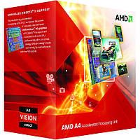 Процессор AMD A4 X2 4020 (Socket FM2) Box (AD4020OKHLBOX)