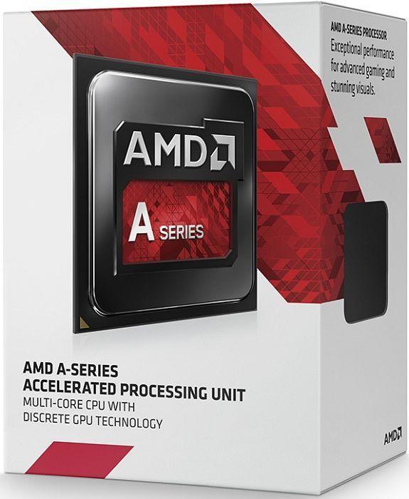 Процессор AMD A8 X4 7600 (Socket FM2) Box (AD7600YBJABOX)