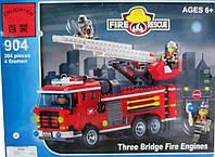 Конструктор аналог лего Brick Пожарная машина 364 детали Киев