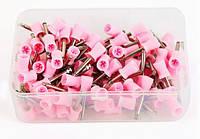 Полиры чашки розовые на угловой наконечник