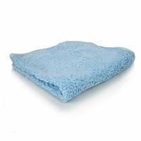 Голубое микрофибровое полотенце с длинным ворсом Shaggy Fur-Ball, 40х40 см MIC_321
