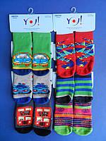 """Носки (19-20 размер ,9-10 см) махровые для мальчиков """"YO SCORPIO"""" С СЕЛИКОНОВОЙ  ПОДОШВОЙ ПОЛЬША"""