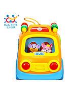 """Игрушка Huile Toys """"Веселый автобус"""", детская игрушка для развития"""