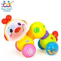 """Игрушка Huile Toys """"Музыкальная гусеничка"""", развивающая игрушка для детей"""
