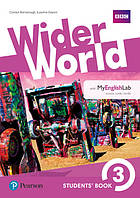 Учебник Wider World 3 Students' Book with MyEnglishLab