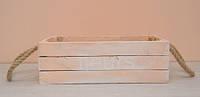 Ящик деревянный со шнурком большой(110)
