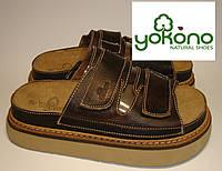 Шлепанцы женские кожаные Yokono (083)  36,40р.