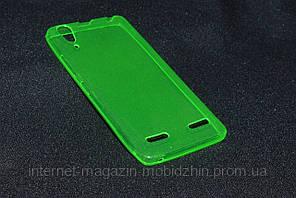 Чехол  Lenovo A6000/A6010/K3 зеленый