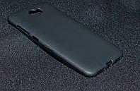 Чехол силиконовый Huawei Y5 II/CUN-U29, черный(Хуавей у5 2,Чехол-накладка, бампер, защита для телефонов, кейс)