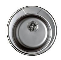 Мойка круглая Haiba 490-polish