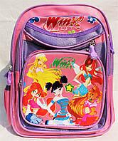 Школьный рюкзак 1-2 класс + Пенал. Ортопедический ранец Винкс для девочек. Портфель первоклассника