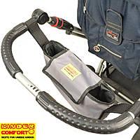 Сумка-органайзер для коляски Kinder Comfort, серый