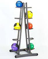 Подставка(стойка) для хранения 10 медболов J2002