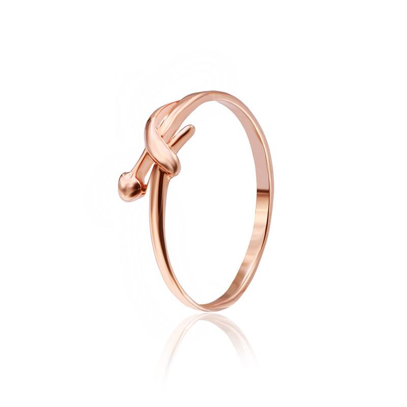 """Серебряное кольцо с позолотой """"511"""""""