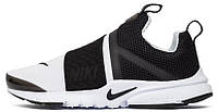"Мужские кроссовки Nike Air Presto Extreme GS ""White/Black"" (Найк Аир Престо) черные/белые"